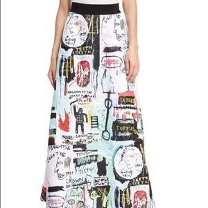 alice and olivia basquiat full skirt